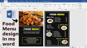 How to Create a Restaurant Menu in Microsoft Word in 4 Easy Steps