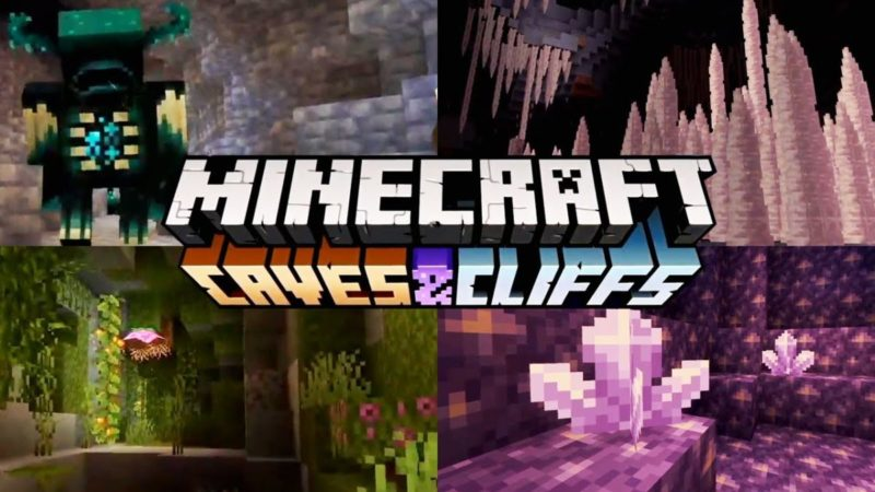 Caves & Cliffs Update Announced at Minecraft Live