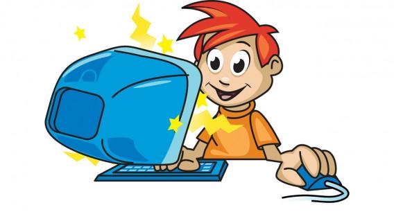 Risultati immagini per computer bambini