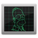 icona monitor simpson