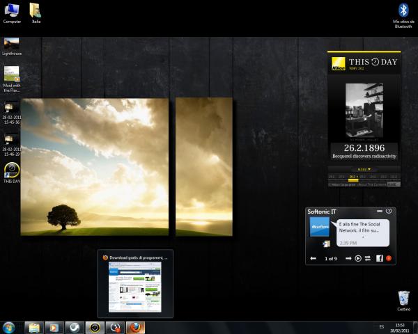 Il desktop di Laura Ceridono