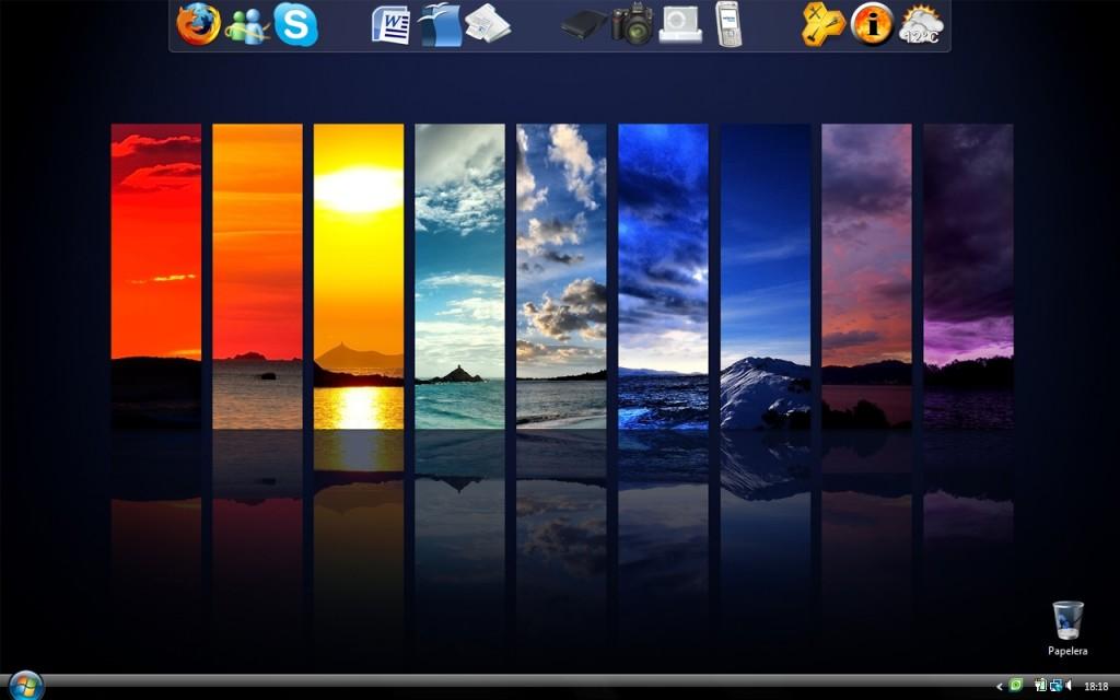 Il desktop di Alessandro