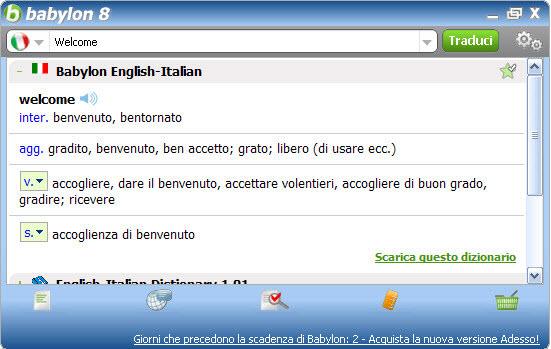 DIZIONARIO ITALIANO ENCARTA SCARICA