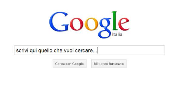 Google barra di ricerca