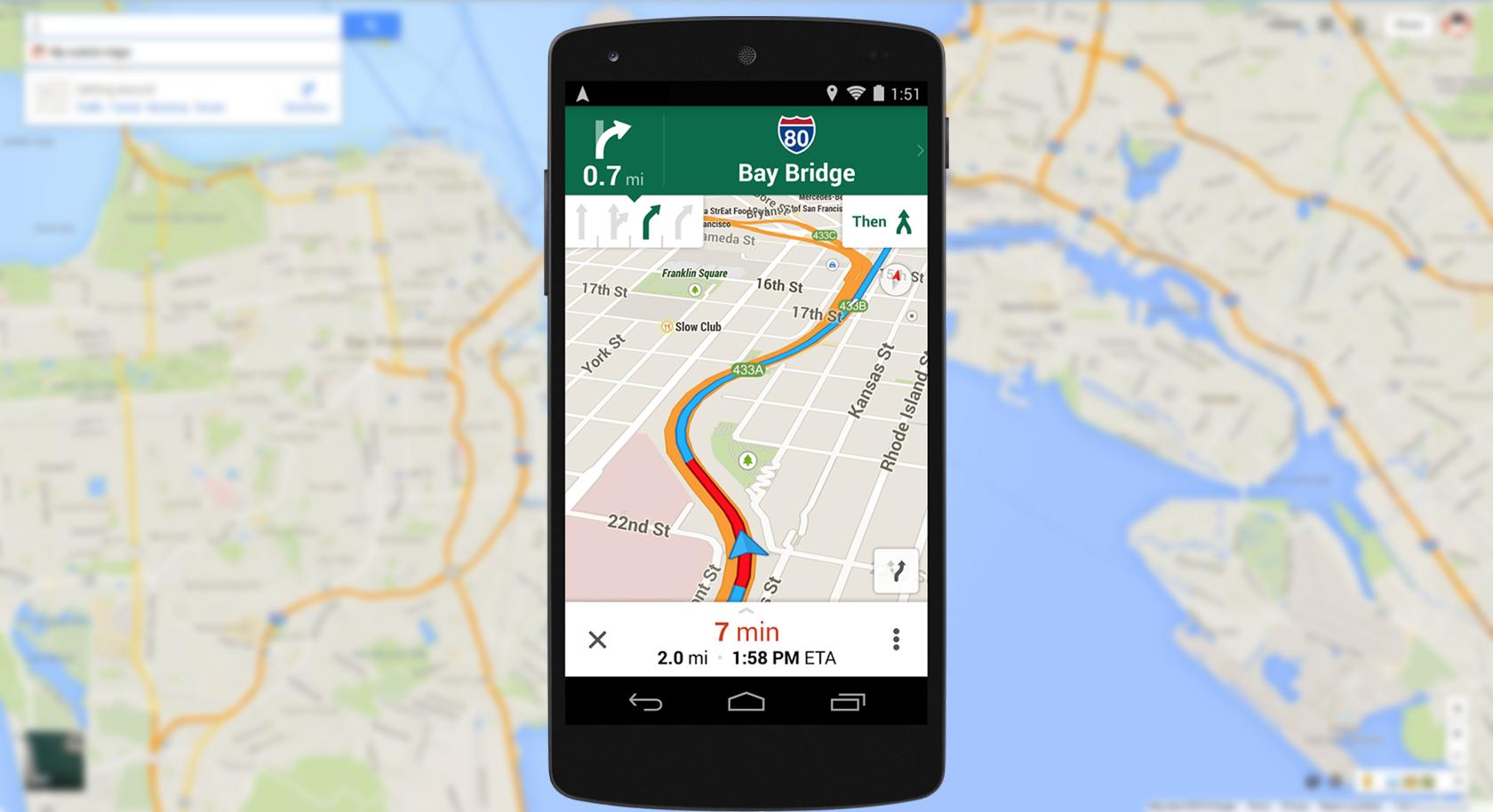 mappe google maps offline