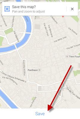 Google Maps: redimensionner la carte