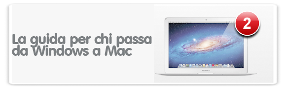 Manuale per chi passa da PC a Mac