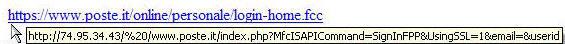 Phishing Bancoposta