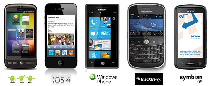 Comparativa sistemi operativi per cellulari