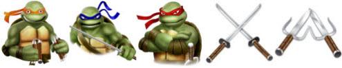 turtles icons