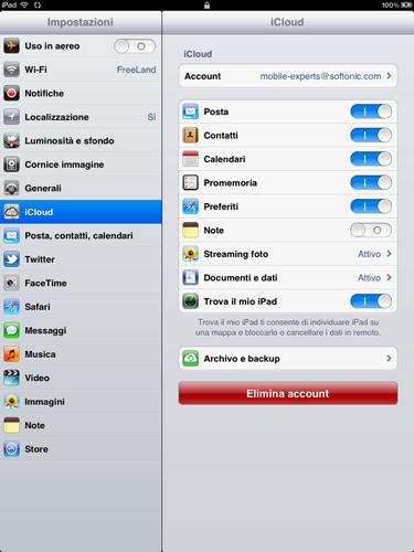Attiva e disattiva i singoli backup su iPhone