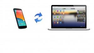 Come sincronizzare l'Android con il PC