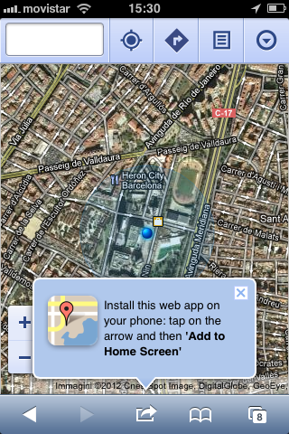 installer google maps sur mobile