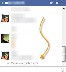 Elimina la notifica di lettura dei messaggi su facebook - Come sapere se un sms e stato letto ...