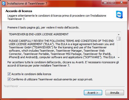 Accordo di licenza