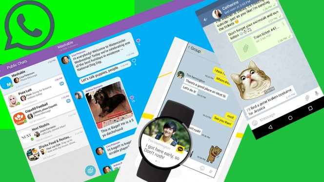 5 alternative gratis a WhatsApp
