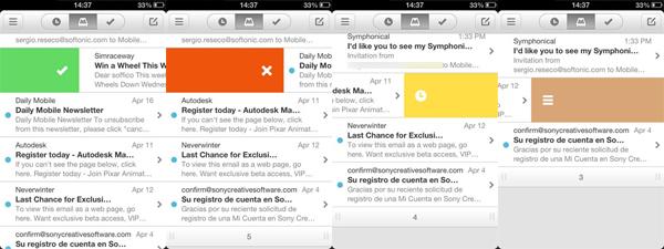 Le 4 gesture di Mailbox copy