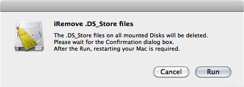 Elimina file DS