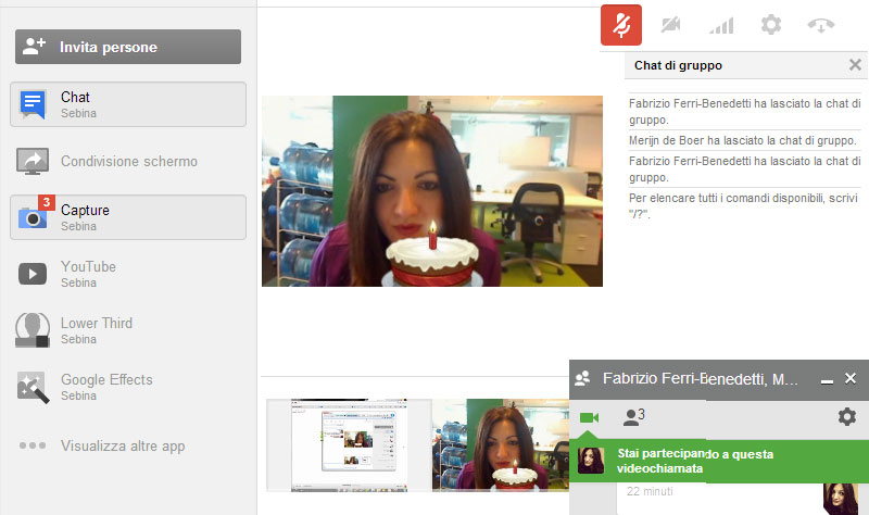 Google Hangouts for desktop
