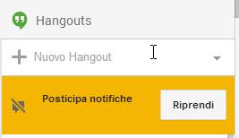 Status Away in Hangouts per Google+