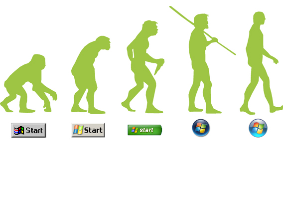 La storia del menu Start di Windows