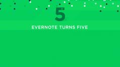 Evernote compie 5 anni!
