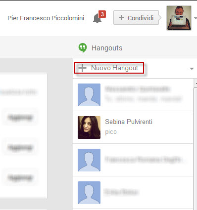 01- Nuovo Hangout
