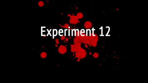 "Experiment 12: l'indie game a ""catena"""