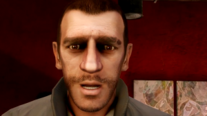 La reazione di Niko Bellic al video gameplay di GTA 5