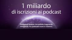 iTunes: Apple festeggia 1 miliardo di iscrizioni ai podcast