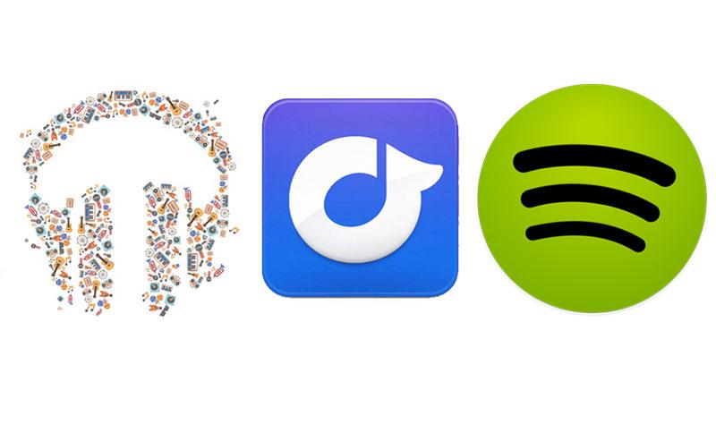 Google Play Music Unlimited vs Spotify Premium vs Rdio Unlimited: scopri quello che fa per te