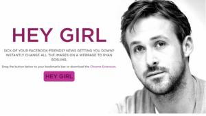 Le pagine (web) della nostra vita? Ryan Gosling arriva su Chrome
