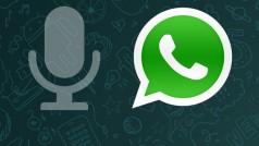 Come inviare un messaggio vocale con WhatsApp