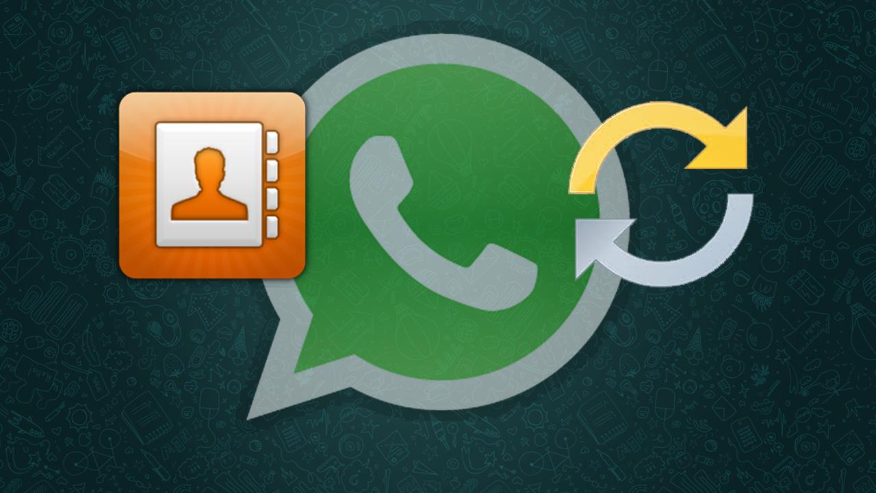 Come sincronizzare i contatti su WhatsApp