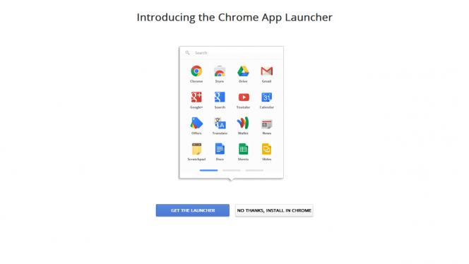 Come installare il Chrome App Launcher