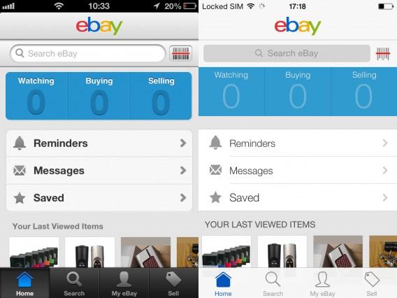 eBay comparison