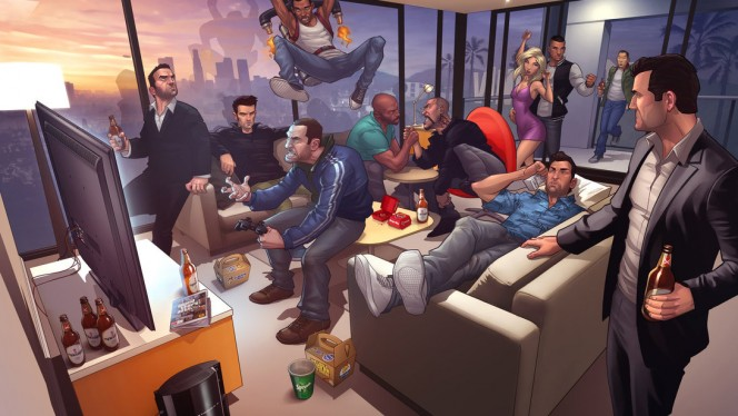 L'evoluzione di Grand Theft Auto in video