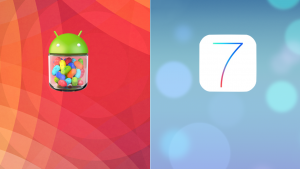 Android 4.3 vs iOS 7: usabilità a confronto