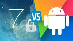 Confronto sulla sicurezza: iOS 7 contro Android 4.3