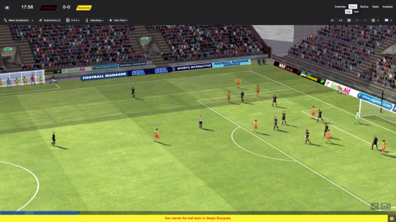 Graphismes : Football Manager 2014, un nouveau moteur 3D