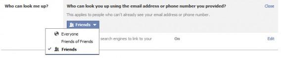 Email numéro de téléphone Facebook
