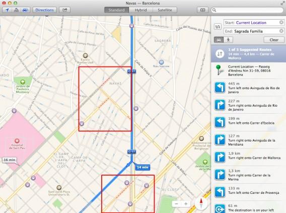 Maps - Indicazioni traffico 03