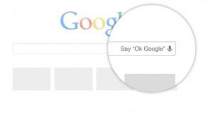 """""""Ok, Google"""" ora anche su Chrome, ma per il momento solo negli USA"""