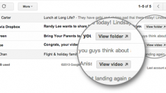 Gmail: arrivano i pulsanti rapidi