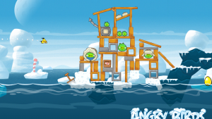 Update di Angry Birds Seasons per Android e iOS: 25 nuovi livelli… gelidi