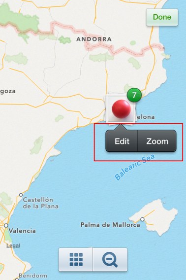 Instagram - editing your Photo Map (2)