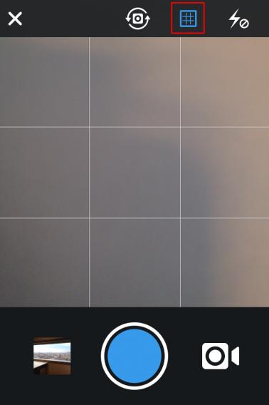 Instagram grid