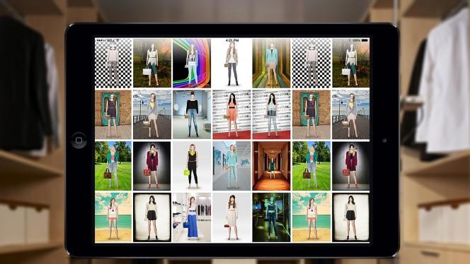 Come organizzare i tuoi vestiti e creare dei look originali con le app di moda