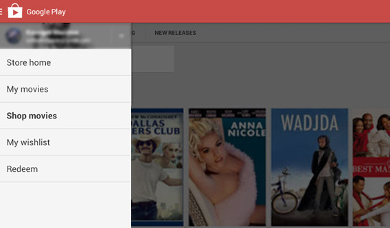 Access your movies in Google Play