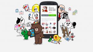 LINE rilascia su Android 1000 nuovi sticons